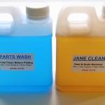 Economy Cleaner Kit - 1 Litre Jane Clean & 1 Litre Parts Wash
